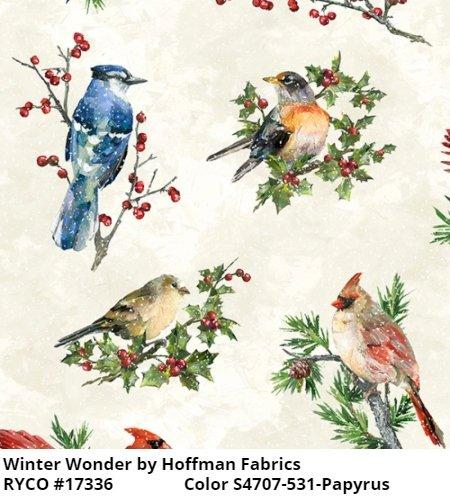 Winter Wonder by Hoffman Fabrics