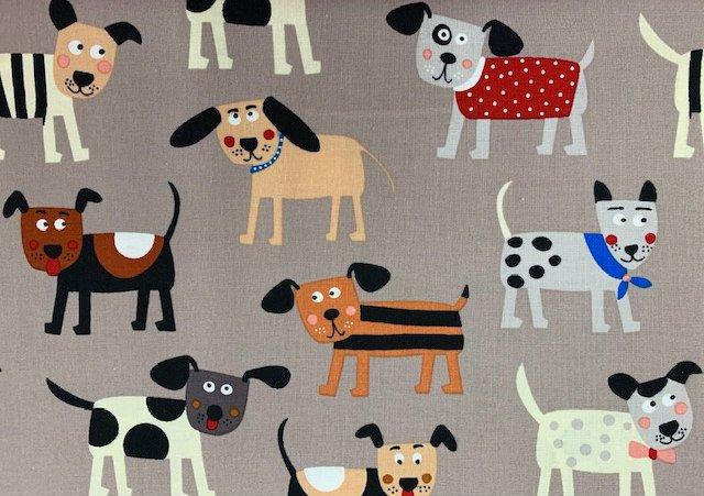 Playful Pups by Clothworks (Y2556-62)