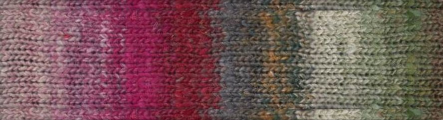 Eyelet Scarf Kit in Noro Tsubame
