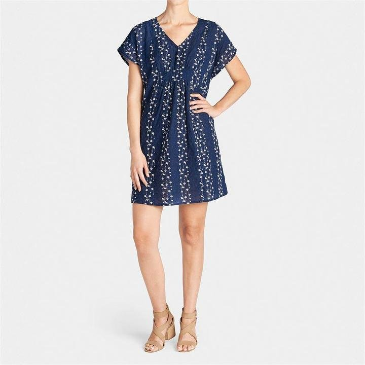 Embroidered Vines Dress