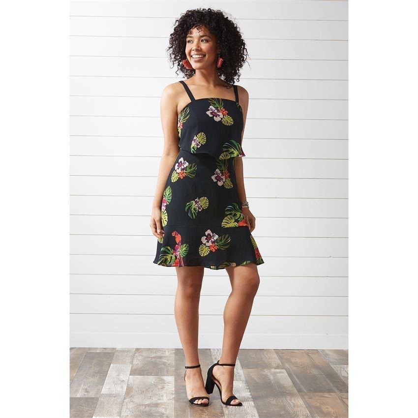 Leilani Ruffle Bottomed Dress
