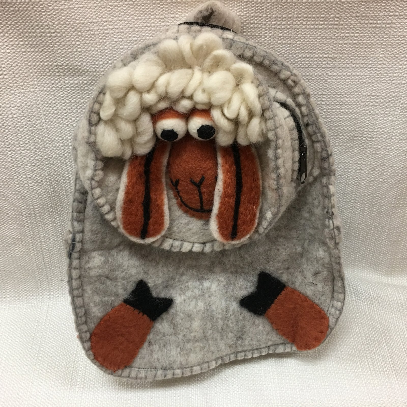 Felted Sheep Backpack