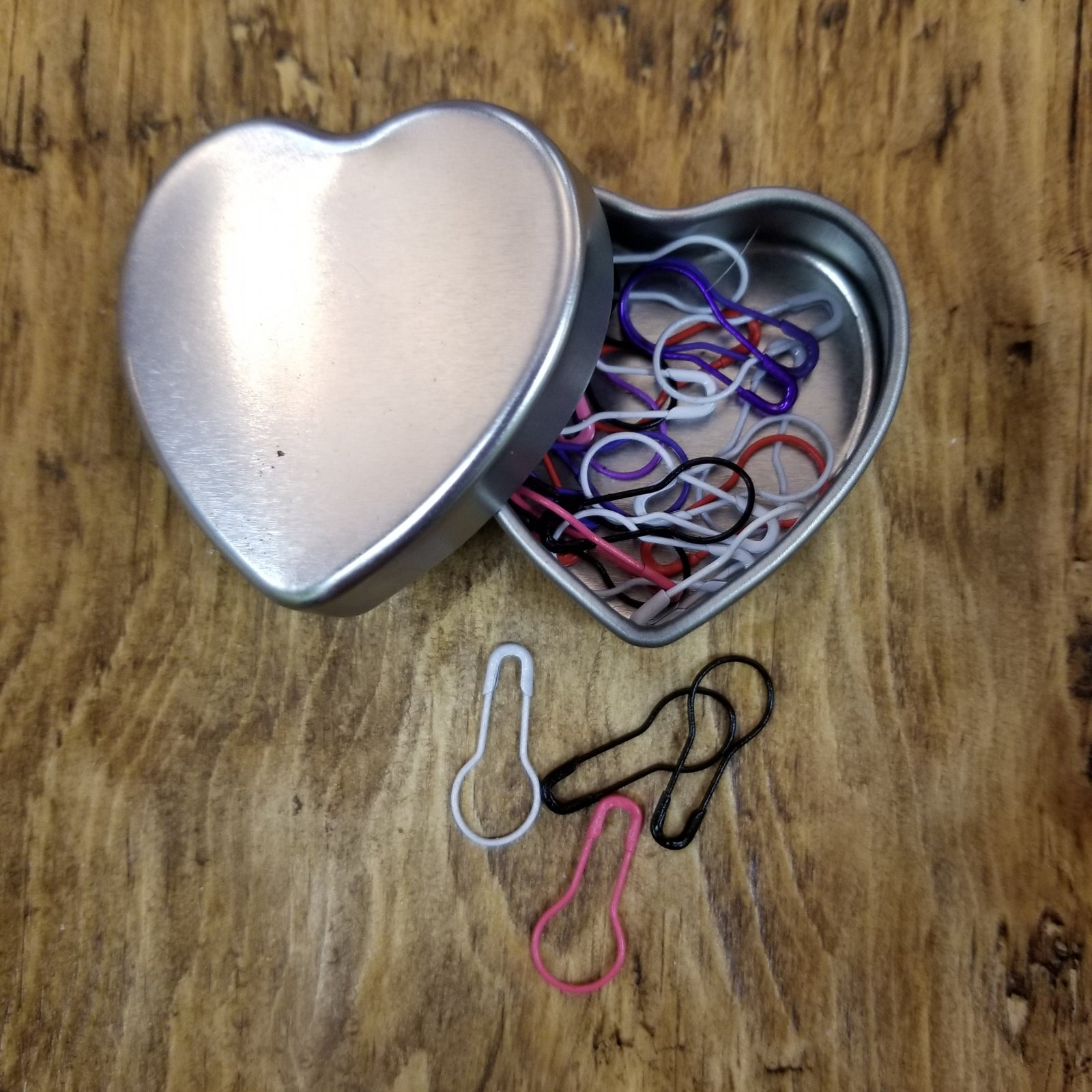 Heart Tin Stitch Markers