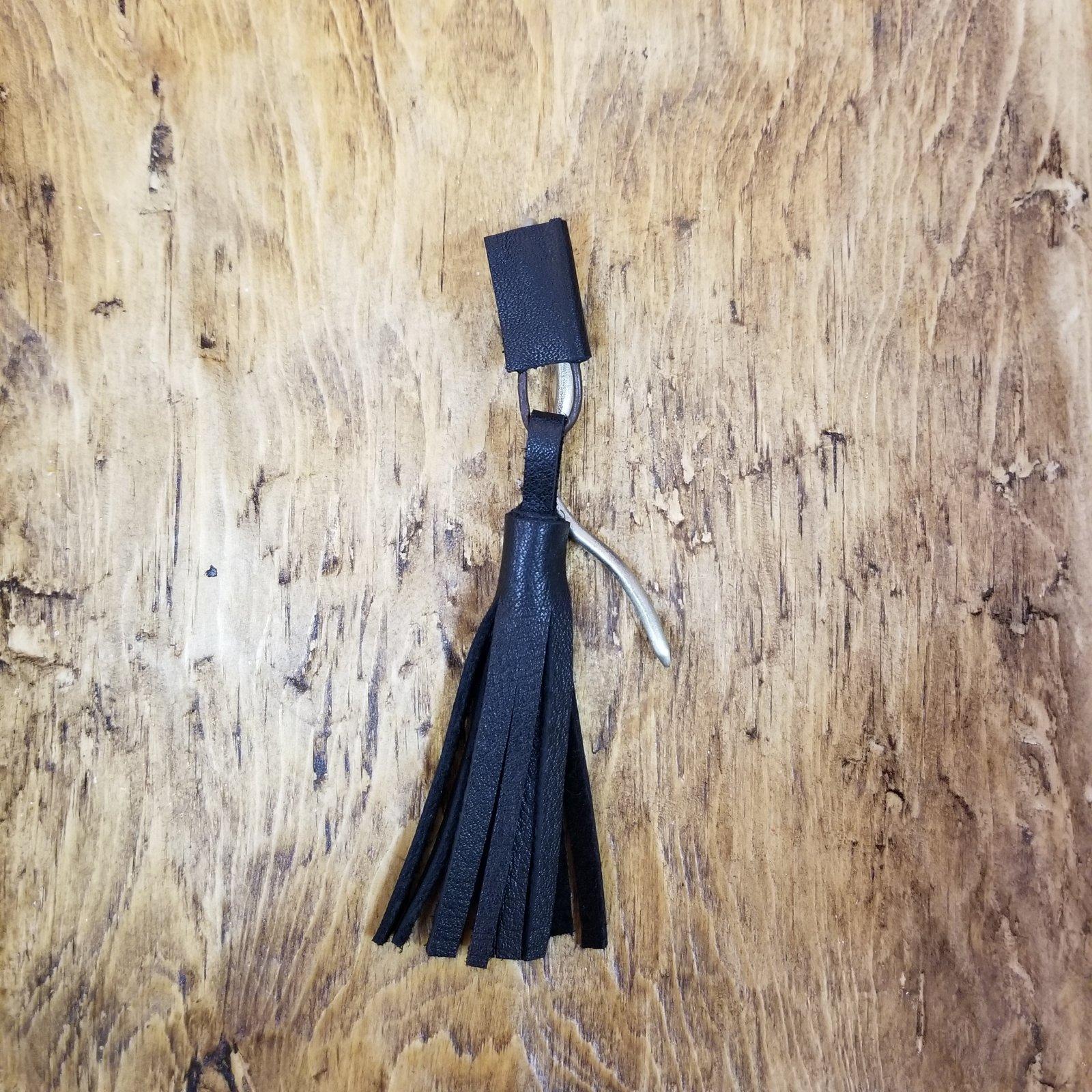 Color Stick Tassel Shawl Pin by Bonnie Bishoff