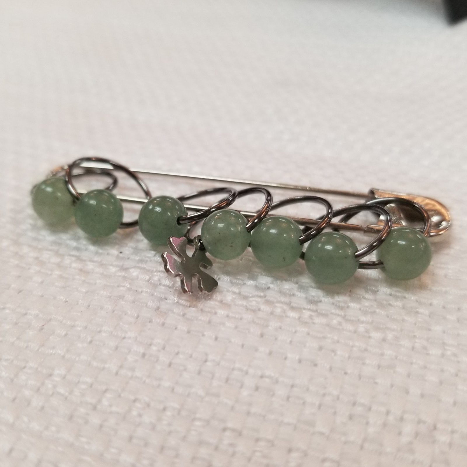 Precious Stone Stitch Markers by MAB Elements