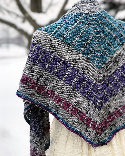 To the Moon & Back Shawl