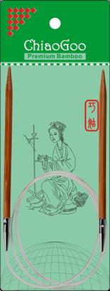 ChiaoGoo Bamboo 32 Circular - Patina