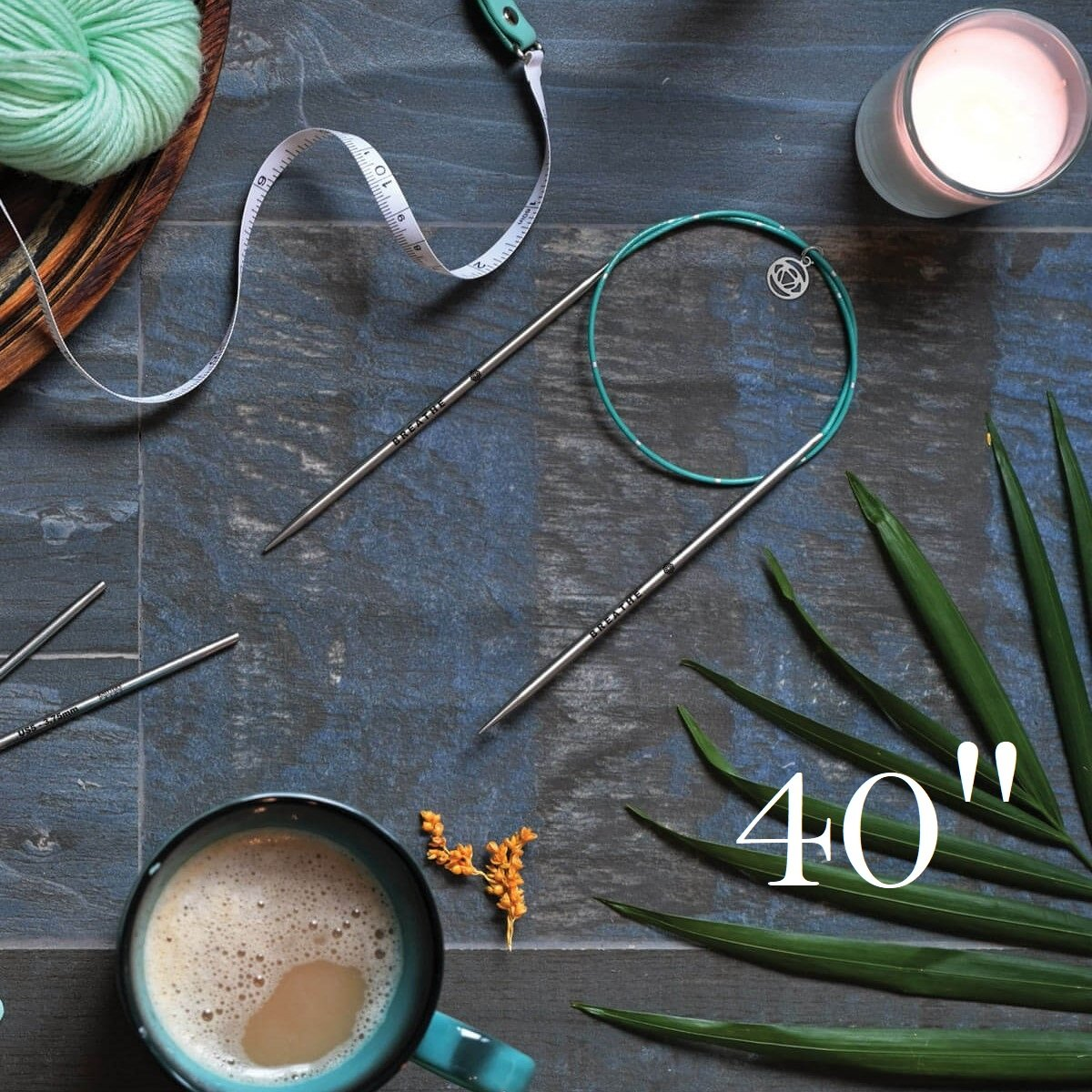 40 Fixed Circular Needle - Mindful