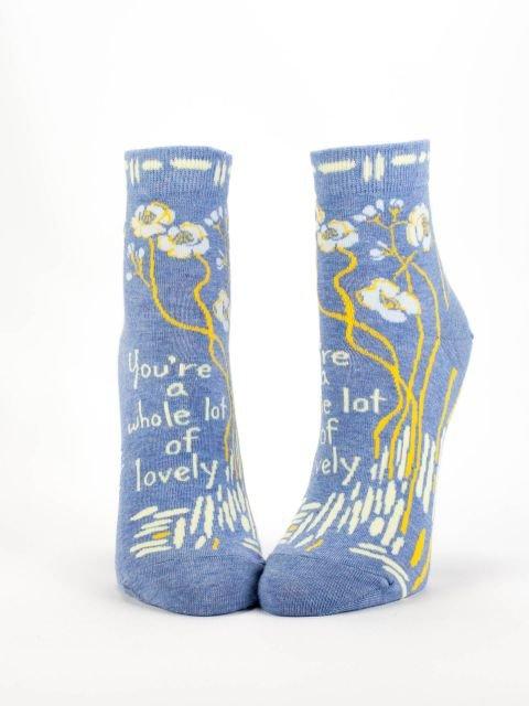 Ankle Socks - Blue Q