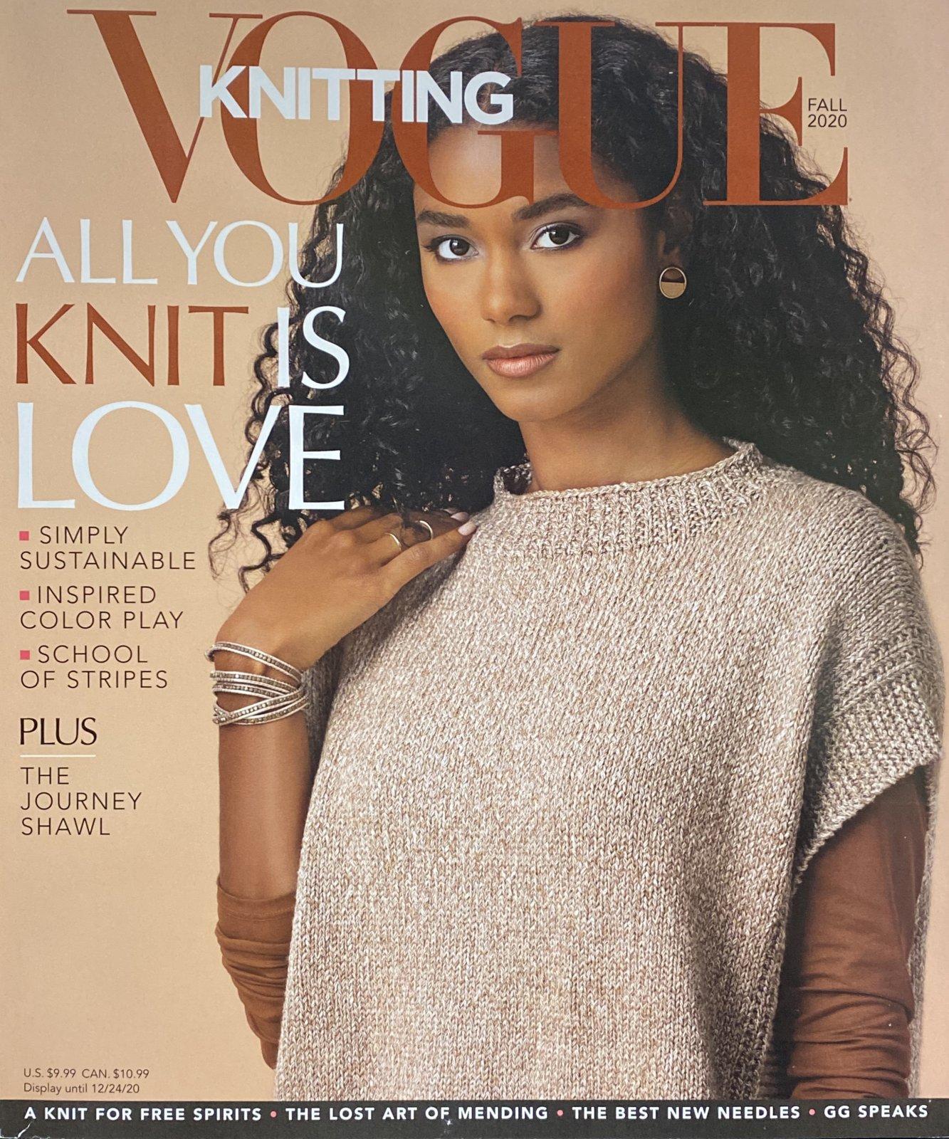 Vogue Knitting Fall 2020