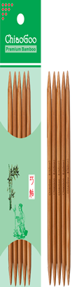 ChiaoGoo Bamboo 6 Double Points - Patina