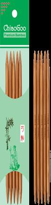 ChiaoGoo Bamboo 6 Double Points - Patina