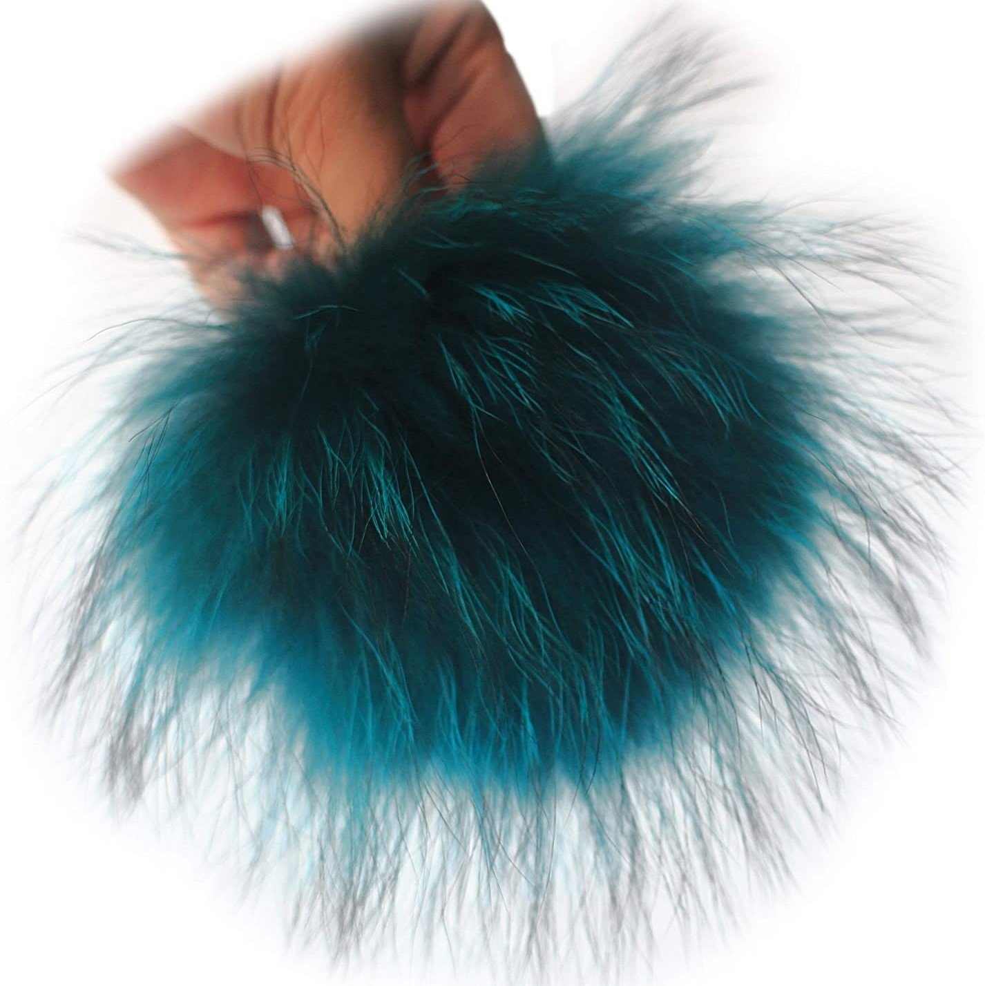 Giant Fur Pom Pom 6 1/2 inches