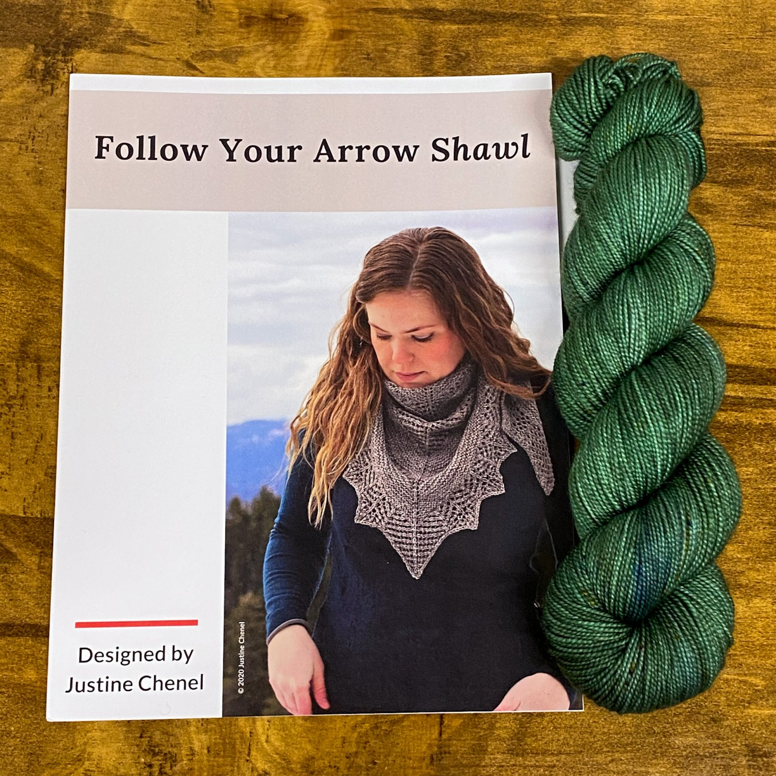 Follow Your Arrow Kit Totally Rad Yarns TS