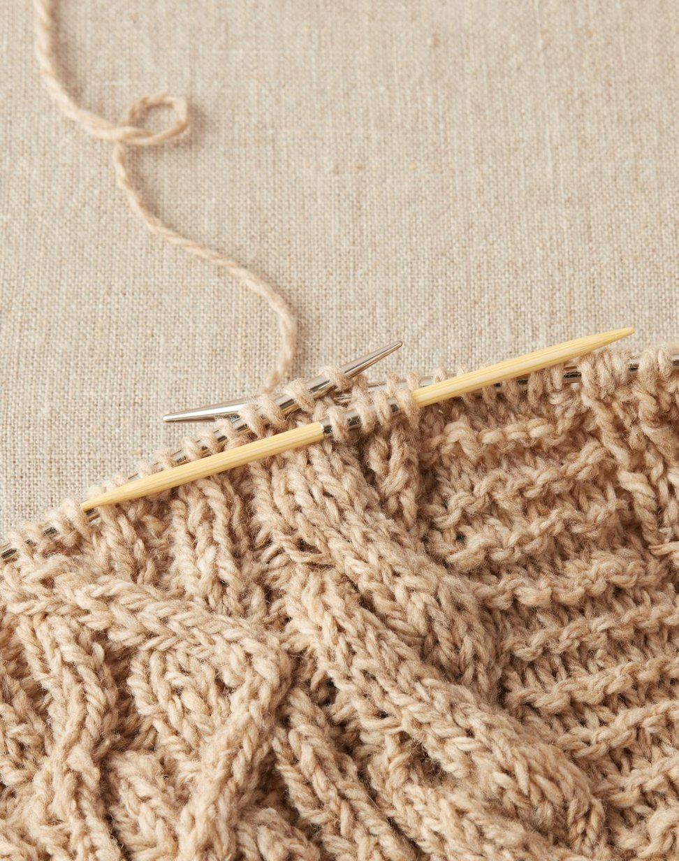 Bamboo Cable Needle Set