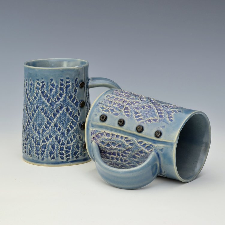 Creative with Clay Lace Large Mug