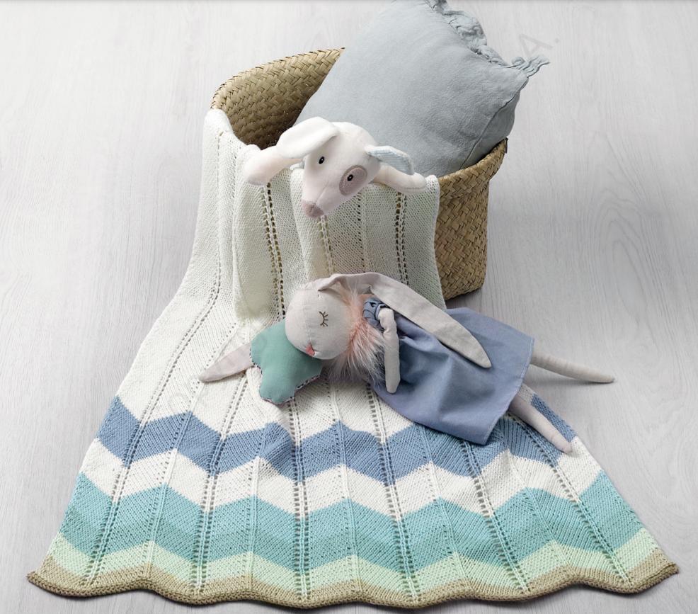 Fair Cotton Baby Blanket - On Demand Class