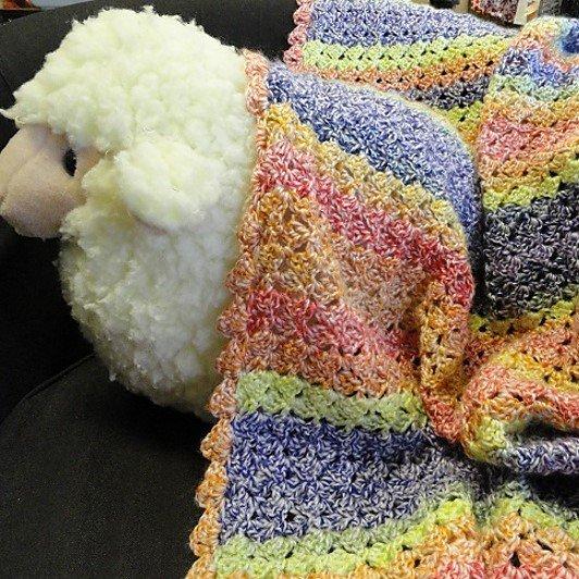 Coloree Baby Blanket Pattern