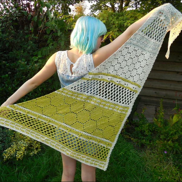 Hotel of Bees Crochet Shawl - On Demand Class