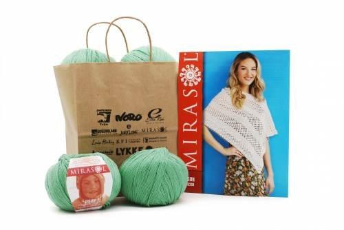 Eunice Crocheted Poncho Kit