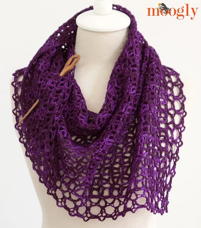 Fortune's Shawlette - On Demand Class