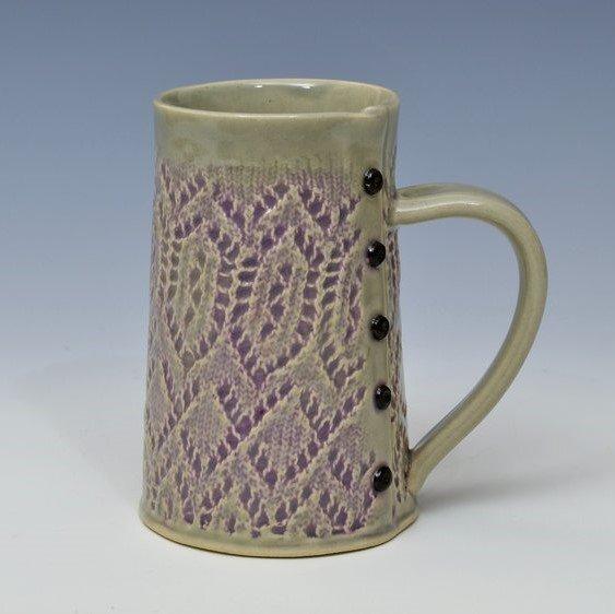 Creative with Clay Jumbo Lace Mug