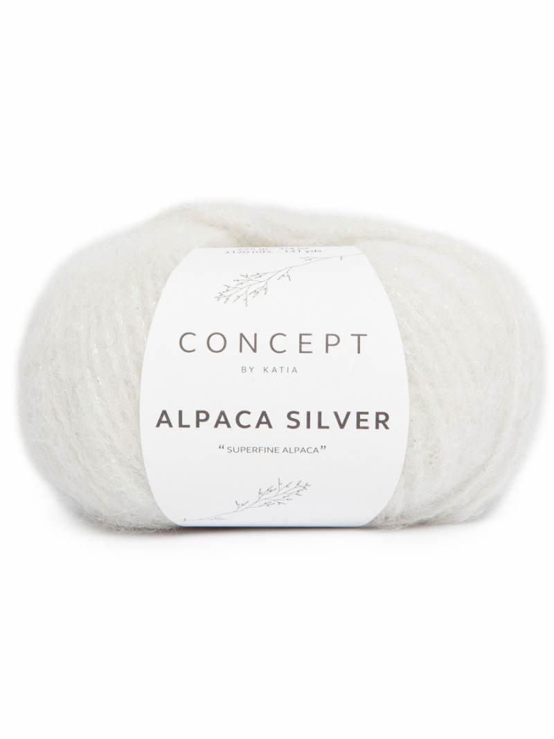 Alpaca Silver by Katia