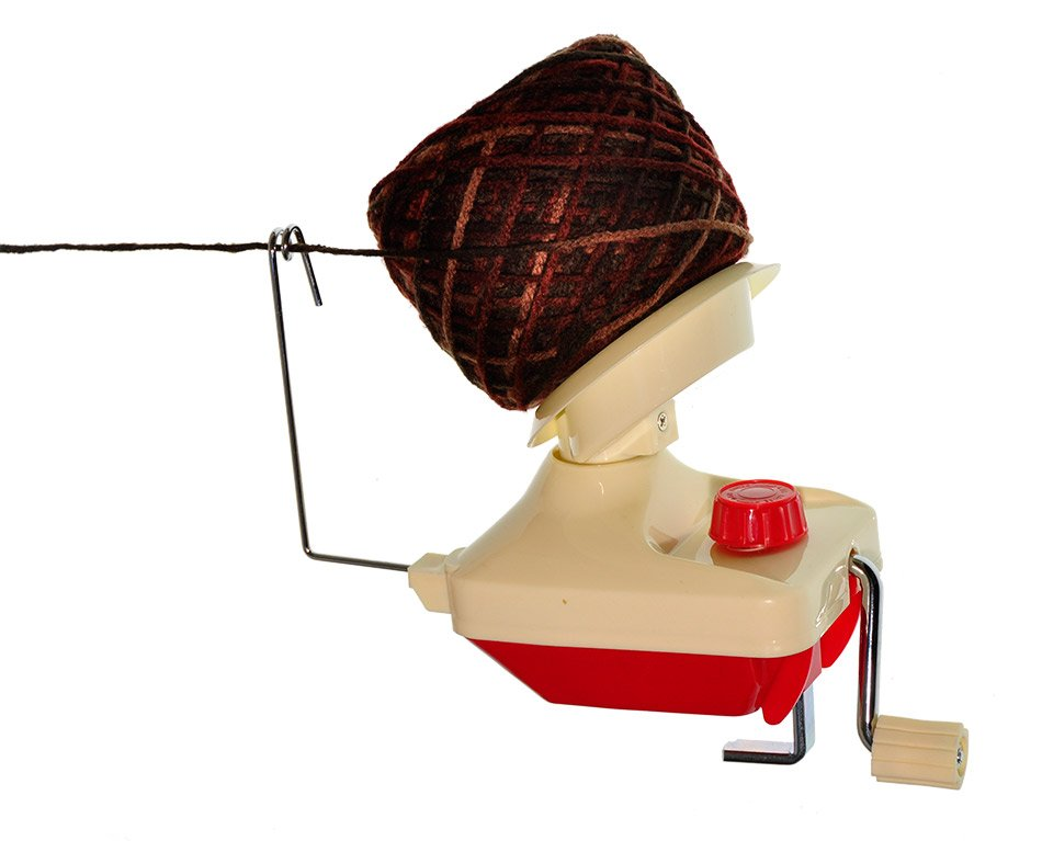 Lacis Red Yarn Ball Winder II