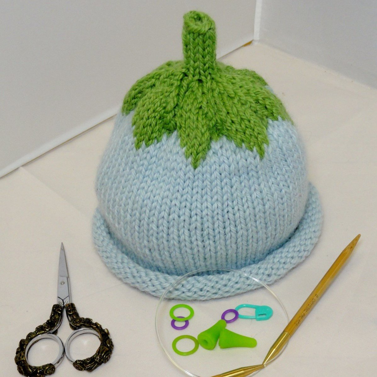 Learn to Knit a Baby Hat - On Demand Class