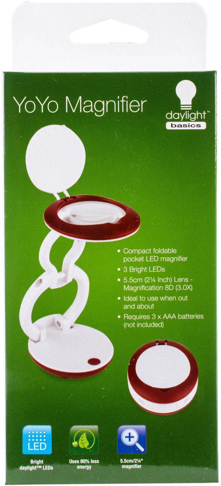 YoYo Portable Light and Magnifier