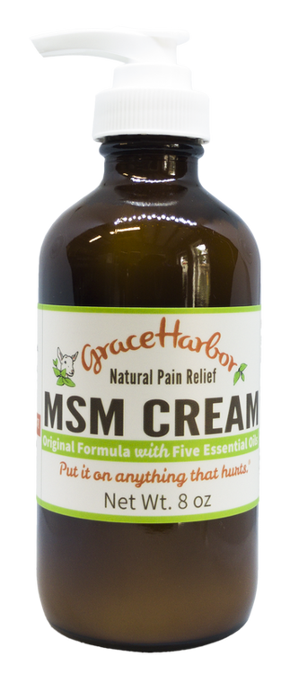 MSM Cream by Grace Harbor