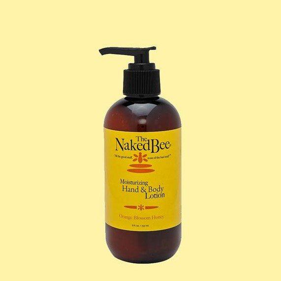 Moisturizing Hand & Body Lotion 8 oz Pump Bottle by The Naked Bee