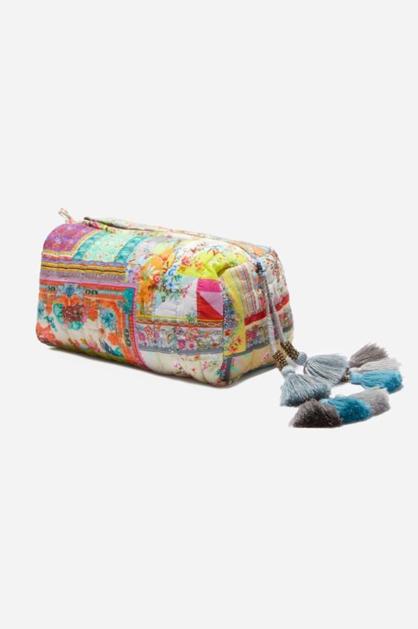 Quilted Makeup Bag - Johnny Was