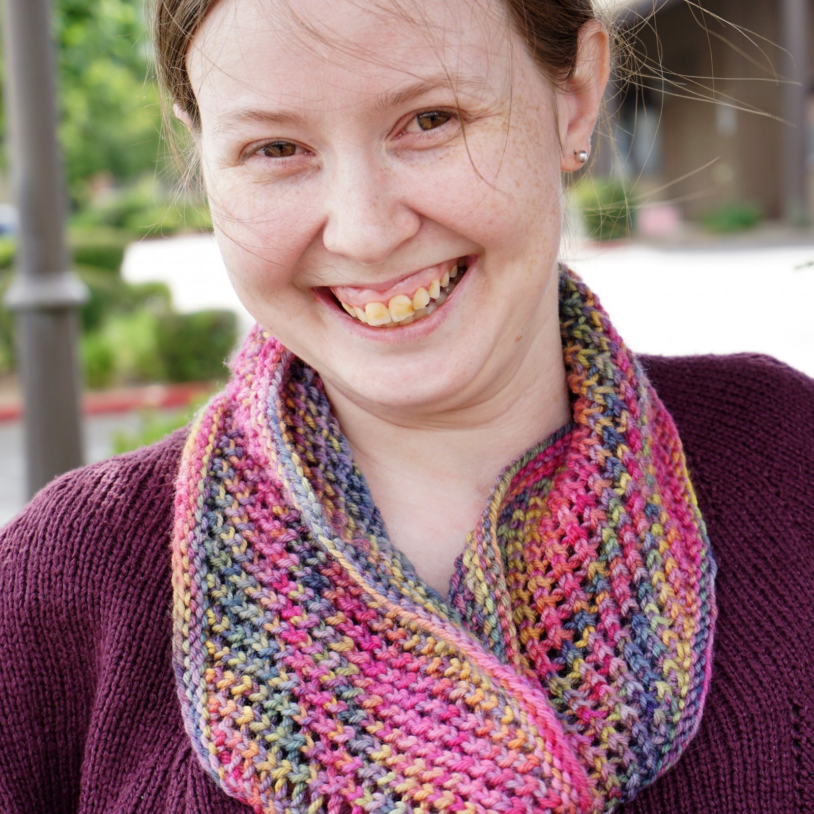 Ribbon Candy Cowl - On Demand Class