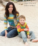 A Day at the Beach design book #1405 by Classic Elite