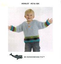 MinnowKnits pattern 216 - Henley