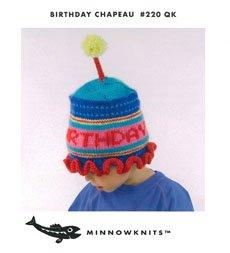 MinnowKnits pattern 220 - Birthday Chapeau