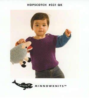MinnowKnits pattern 231 - Hopscotch