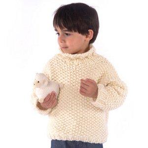 MinnowKnits pattern 262 - Wooly Turtleneck