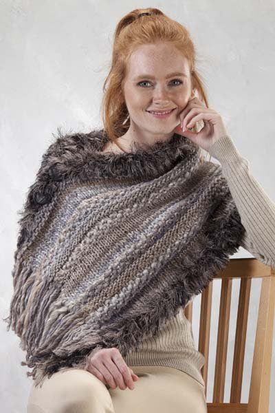 It's a Wrap poncho pattern 5302-R from Trendsetter