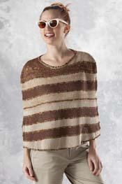 Transitions Luxe & Cin Cin Striped Shoulder Cover pattern