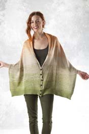 Transitions Luxe Multi Directional Buttoned Wrap pattern