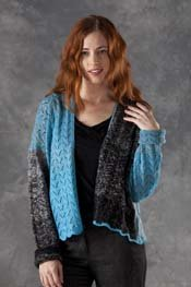 Transitions Luxe Fantail Swing Split Cardigan pattern