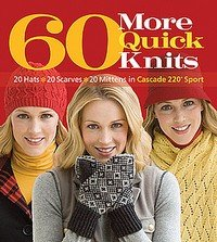 60 More Quick Knits design book from Cascade