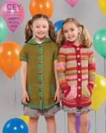 Liberty Wool Kids design booklet 9197 from Classic Elite