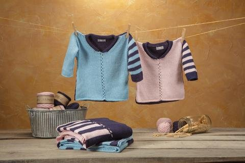 Tally Ho Pullover kit by Appalachian Baby Design