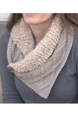 Arequipa Aventura & Worsted  Scarf Pattern