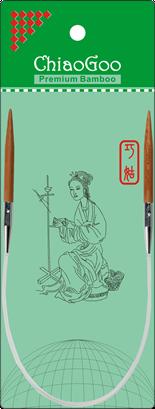 ChiaoGoo Bamboo Circular Needles 10 tip
