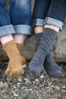 Basic Sock pattern from Churchmouse