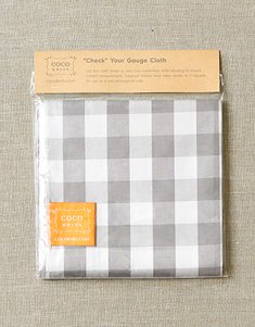 Check Your Gauge Cloth by CoCoKnits